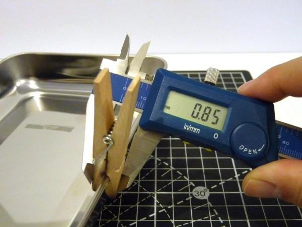 百均浪漫・ダイソー ステンレス角型バット約145×212mm
