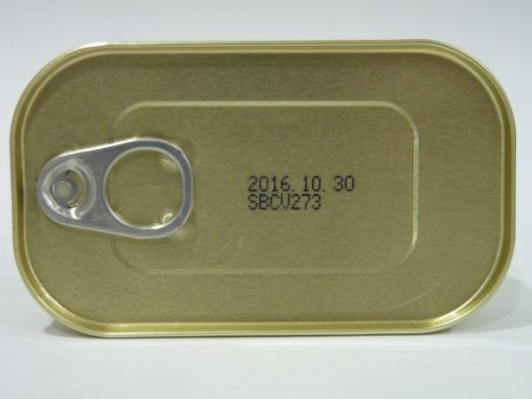 百均浪漫◆燻製アサリのオイル漬け缶詰