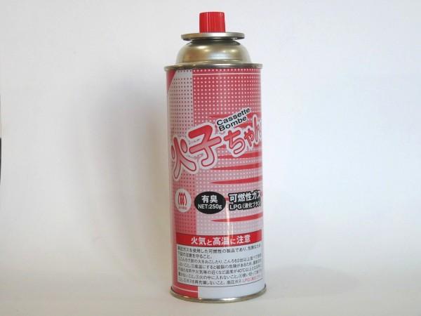百均浪漫◆TTSカセットボンベ缶火子ちゃん