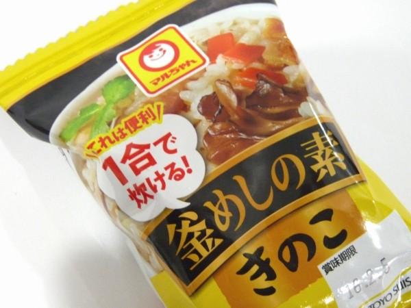 百均浪漫◆マルちゃん これは便利!1合で炊ける!釜めしの素 きのこ