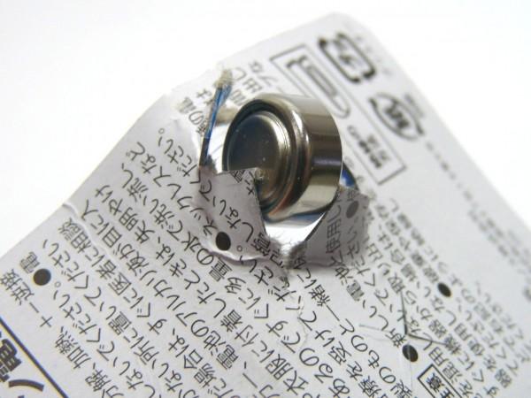 百均浪漫◆LR44アルカリボタン電池 2個入り