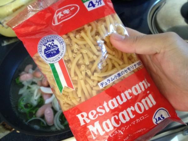 百均浪漫◆奥本製粉レストランマカロニ300g