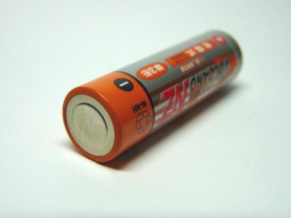 百均浪漫◆ニッケル水素充電池VOLCANO NZ