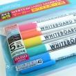 百均浪漫◆ダイソー・ホワイトボードマーカー5色