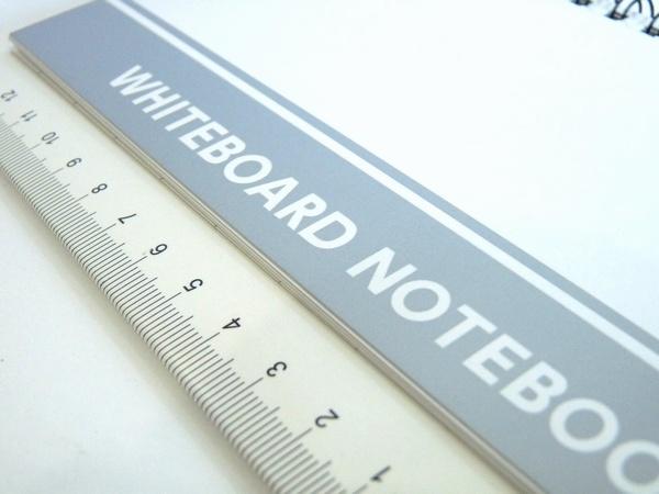 ノリノリな気分でさらっとお絵かき、ホワイトボードノート、なんだかモバイル @100均 ダイソー
