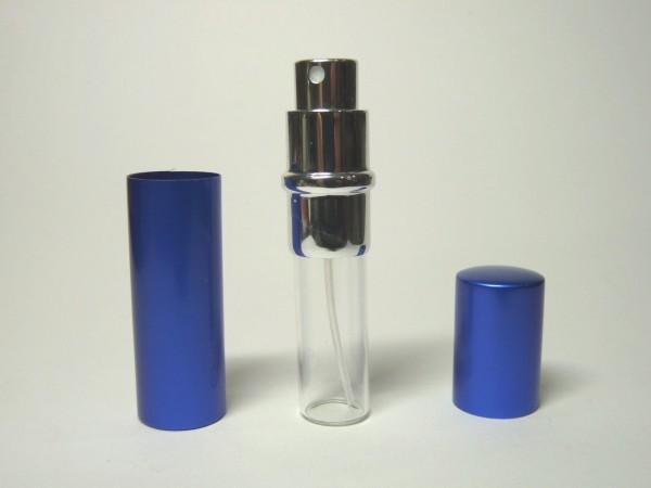 百均浪漫◆ダイソー シンプル無地 香水スプレー容器 ブルー