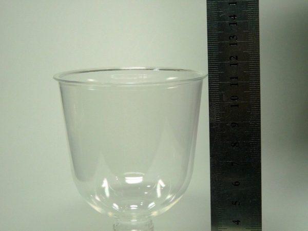 百均浪漫◆まるき、プラスチック製ワイングラス2個入り