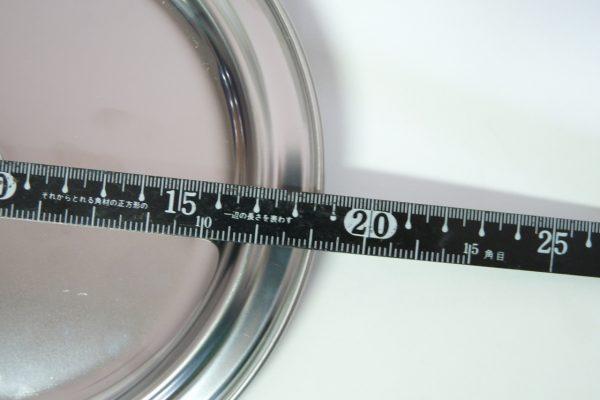 百均浪漫◆エコー金属 ステンレス雪平鍋用蓋 16・18cm用