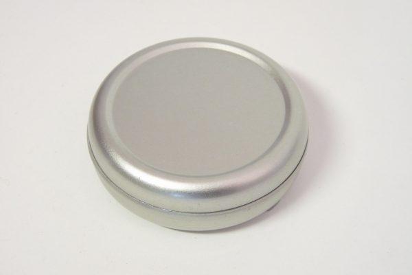 百均浪漫◆丸型ミニ携帯灰皿(シルバー)