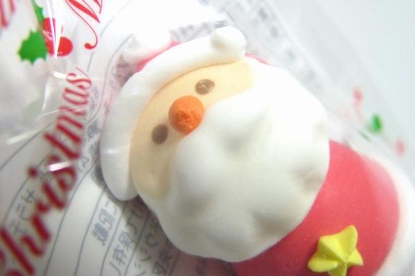 クリスマスケーキ飾りのサンタ菓子をダイソーで発見! @100均 ダイソー