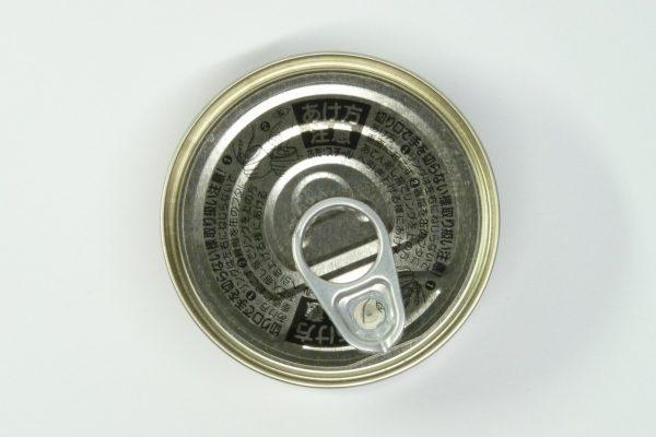 百均浪漫◆HOKO やきとり とりたまご たれ味・缶裏側写真