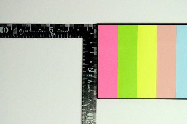 百均浪漫◆セリア 薦田紙工業 手帳にはさめるふせんサイズ
