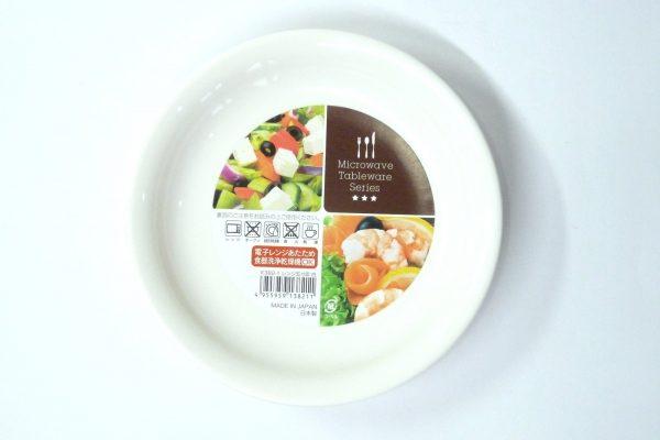 百均浪漫◆ナカヤ 日本製樹脂五寸皿。