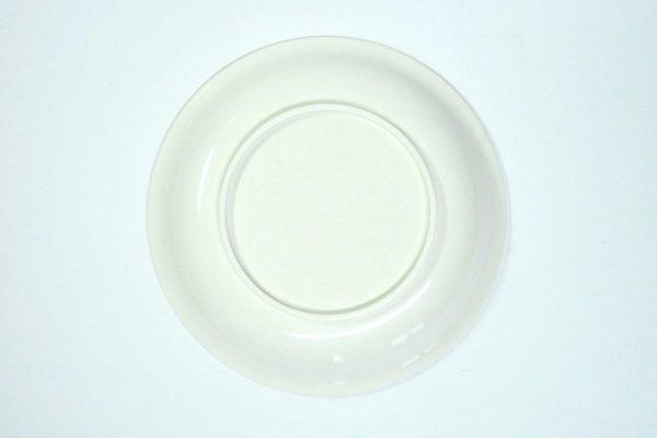 百均浪漫◆ナカヤ 日本製樹脂五寸皿。裏側。