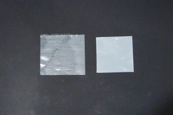 百均浪漫◆モリトク 仮止め用 養生テープ 白。よくある養生テープと比較。