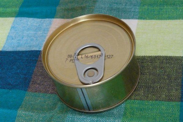 百均浪漫◆イトマトコーポレーション・カのガーリックオイル漬。食す。なかなか美味しい!の写真。