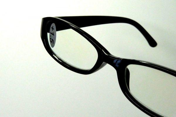 百均浪漫◆ブルーライト40%カット。PC老眼鏡。本体詳細写真。
