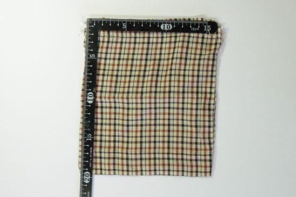百均浪漫◆スルガ・携帯用スリッパ。収納袋詳細写真。