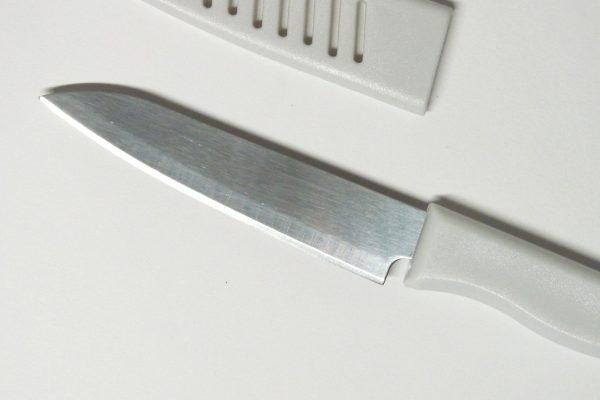 百均浪漫◆エコー金属 さや付きフルーツナイフ。さやを外してみました。