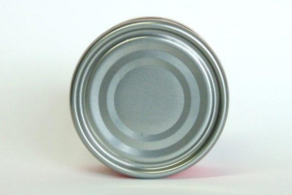 百均浪漫◆いなば 野菜とタイカレー 鶏ささみ入り。缶底写真。