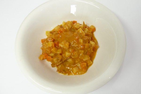 百均浪漫◆いなば 野菜とタイカレー 鶏ささみ入り。試食。