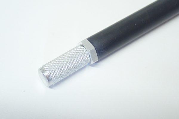 百均浪漫◆ダイソー デザインナイフ115。本体詳細写真。