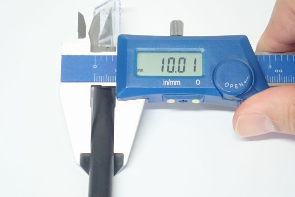 百均浪漫◆ダイソー デザインナイフ115。サイズ測定。