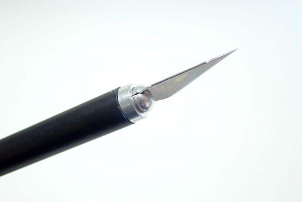 百均浪漫◆ダイソー デザインナイフ115。刃の取り換え方法。