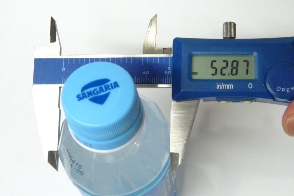 百均浪漫◆サンガリア アイソトニックウォーター 200mlペットボトル。サイズ測定。