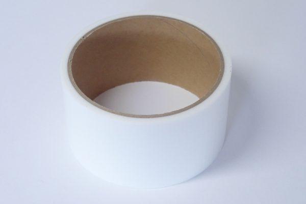 百均浪漫◆CS養生テープ(白) 48mm × 8m。養生テープ写真。