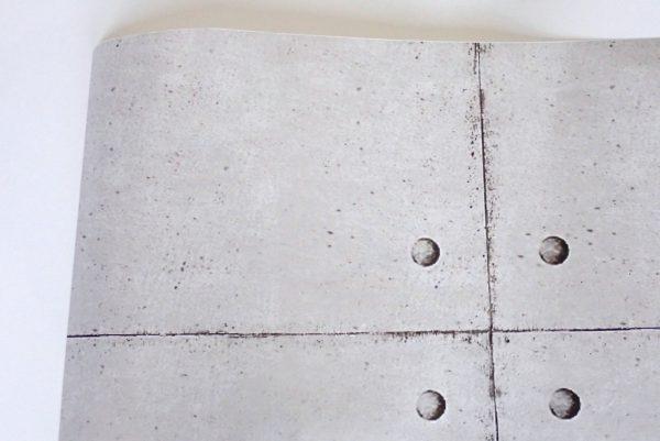 百均浪漫◆エコー金属 リメイクシート コンクリート調柄。コンクリート調。