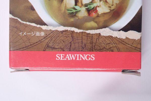 百均浪漫◆シーウィングス 缶DELI あさりアヒージョ。パッケージ詳細写真。