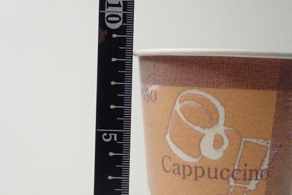 百均浪漫◆セリア断熱カップ 250ml 7個入。サイズ測定。