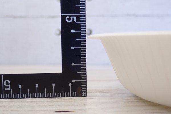 百均浪漫◆ワッツ・ペーパーボウル410ml 12個入。サイズ測定。