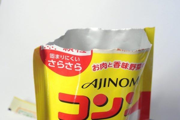 百均浪漫◆味の素コンソメ顆粒60g。開封。