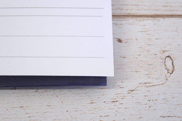 百均浪漫◆セリア A4 2リングファイル レザースタイル。リフィルがはみ出す。