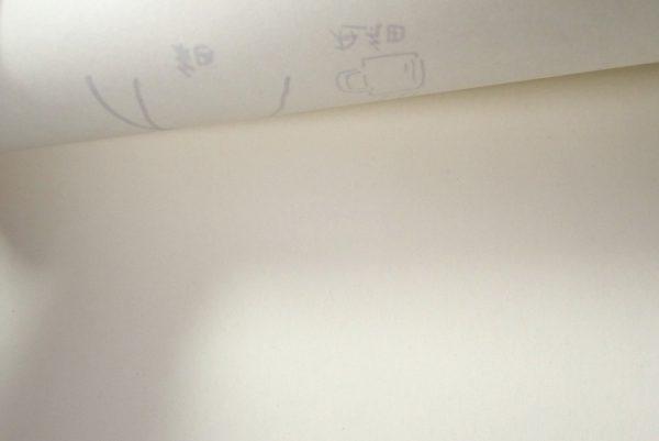 百均浪漫◆アクアテック スリム。試し書き。裏うつりしない!