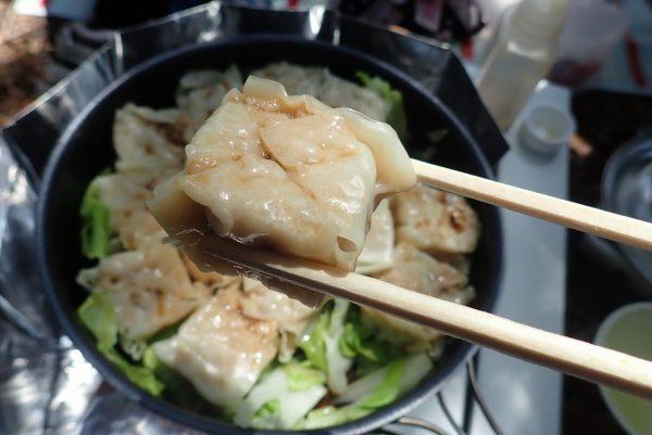 百均浪漫◆VL 肉焼売。フライパンで焼売を蒸す。