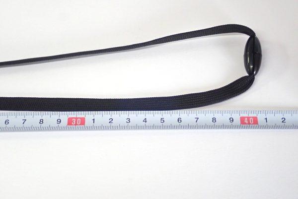 百均浪漫◆伸縮リール付ネックストラップ(安全装置付)。長さチェック。