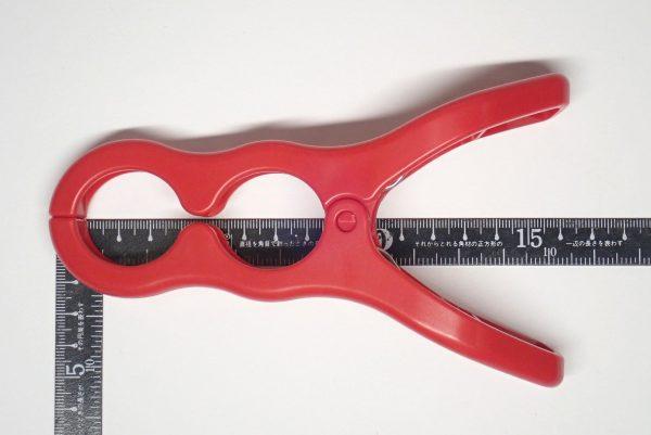 百均浪漫◆挟む鍋ふたスタンド。サイズ測定。