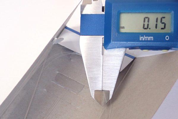 百均浪漫◆ダイソー 袖釣 針4号 ハリス0.8号 100cm、6本入り。 針は引くと取り出せる。