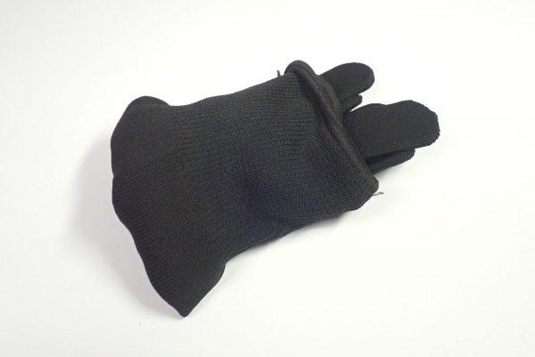 百均浪漫◆すべり止め付きぴたっと手袋。収納形態。