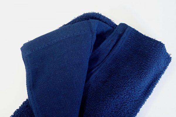 百均浪漫◆首に巻きやすいロングタオル。タオル詳細写真。