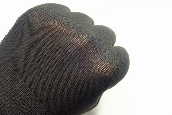 百均浪漫◆エンボス付き指切りフィットグローブ。薄手でいい感じ。