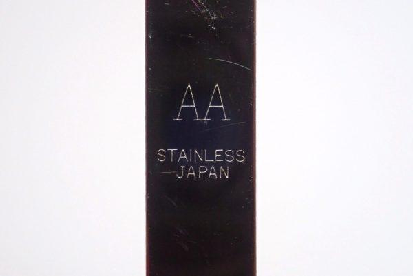 百均浪漫◆日本製 先の平らなピンセット(直型)。ステンレススチール製。