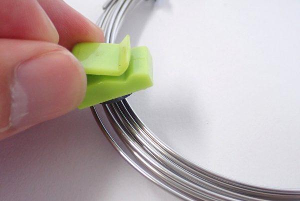 百均浪漫◆ステンレス針金 太さ約1.20mm x長さ3.5m。磁石に付かないステンレス鋼。