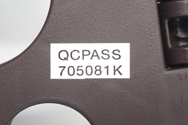 百均浪漫◆セリア 樹脂製折りたたみ簡易チェア。QCパス。
