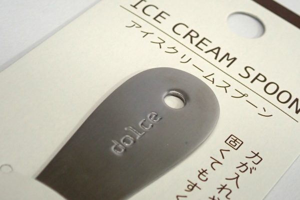 百均浪漫◆日本製!アイスクリームスプーン。
