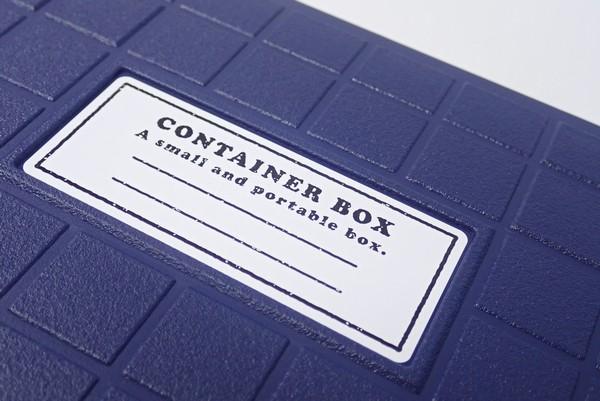 日本製!約17.0×12.5×4.5cmでちょっとした小物を入れるのに便利なコンテナーボックス @100均 セリア
