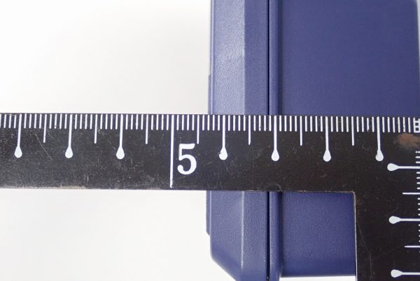百均浪漫◆日本製 コンテナーボックスM。サイズ測定。